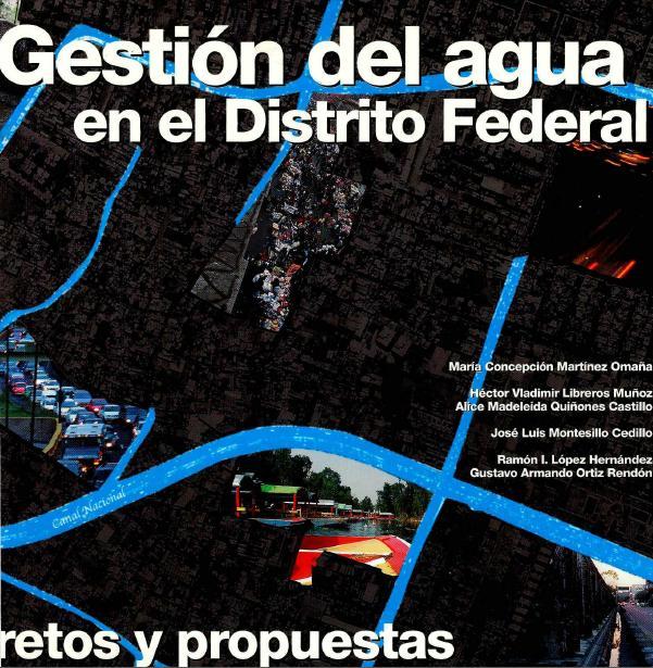 Gestión del agua en el Distrito Federal, Retos y propuestas