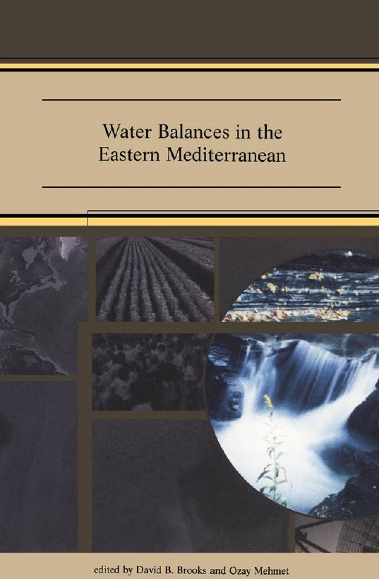 Water Balances in the Eastern Mediterranean (inglés)