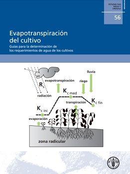 Evapotranspiración del cultivo; Guías para la determinación de los requerimientos de los cultivos