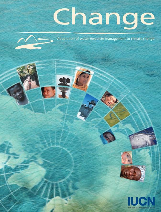 Cambio. Adaptación de la gestión de los recursos hídricos al cambio climático (inglés)