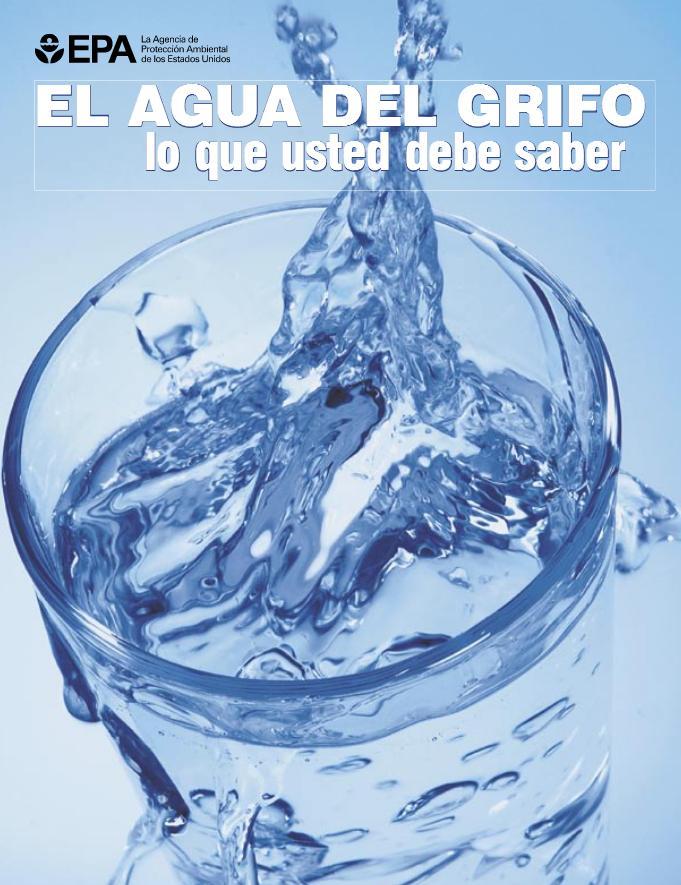 El agua del grifo: lo que usted debe saber