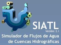 Simulador de flujo de agua de cuencas hidrológicas
