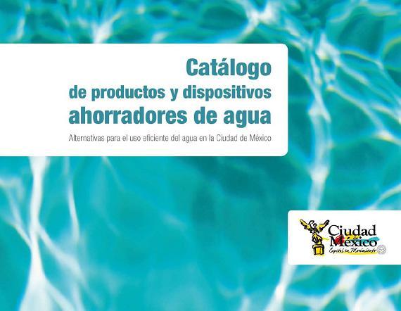 Catálogo de productos y dispositivos ahorradores de agua