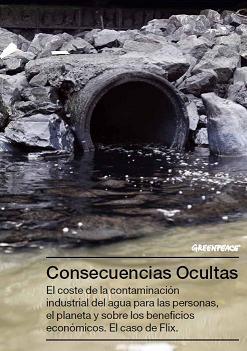 Consecuencias Ocultas: El coste de la contaminación industrial del agua para las personas, el planeta y sobre los beneficios económicos