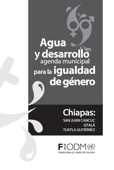 Agua y desarrollo. Agenda municipal para la igualdad de género en Chiapas: San Juan Cancuc, Sitalá y Tuxtla Gutiérrez