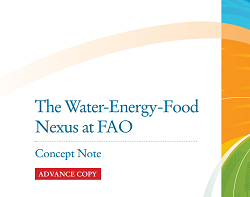 El Nexo Agua-Alimentación-Energía en la FAO