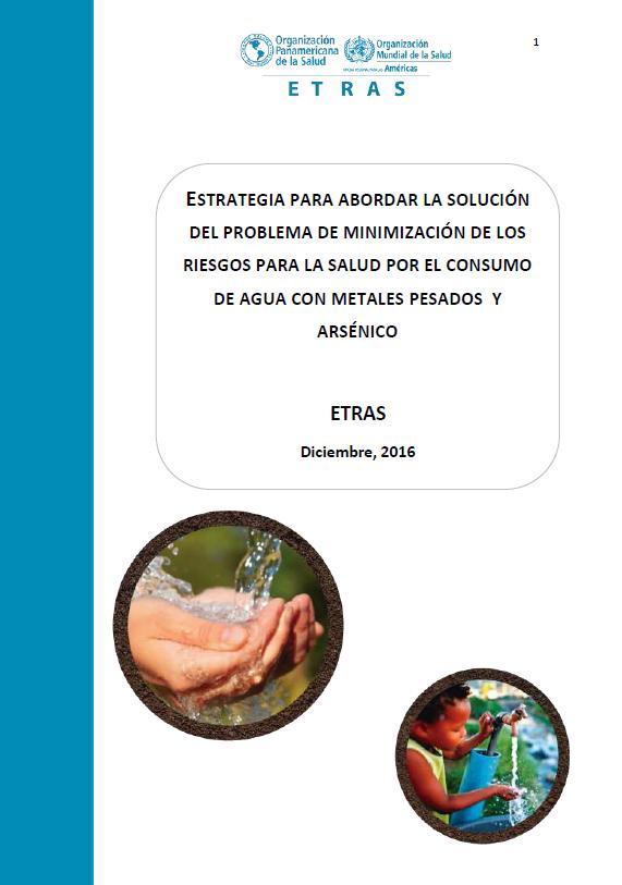 Estrategia para abordar la solución del problema de minimización de los riesgos para la salud por el consumo de agua con metales pesados y arsénico