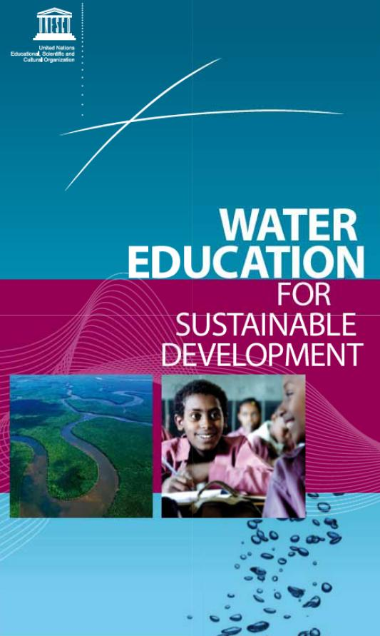 Water education for sustainable development (inglés)