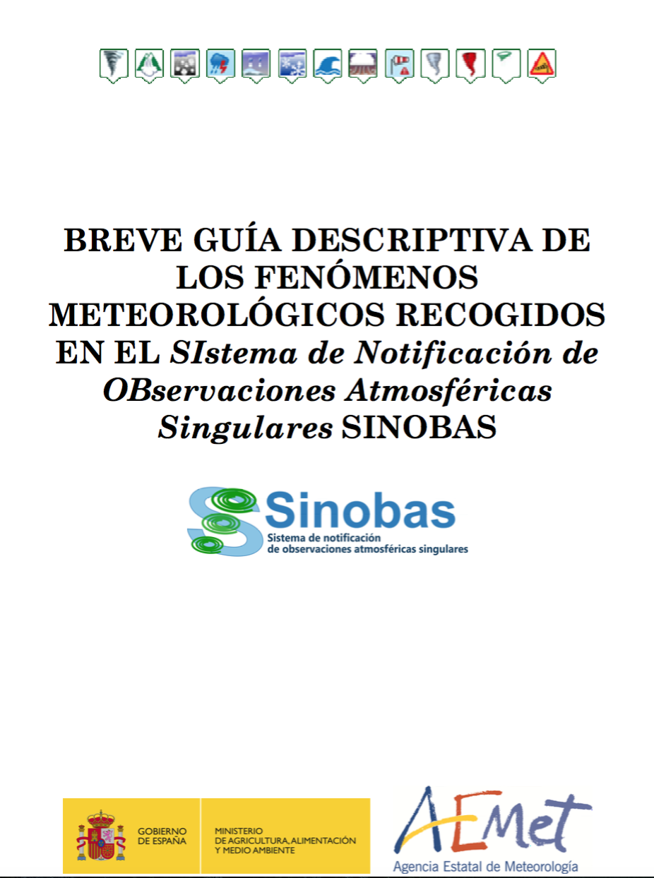 Breve Guía descriptiva de los fenómenos meteorológicos