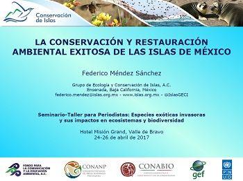 La conservación y restauración ambiental exitosa de las islas de México