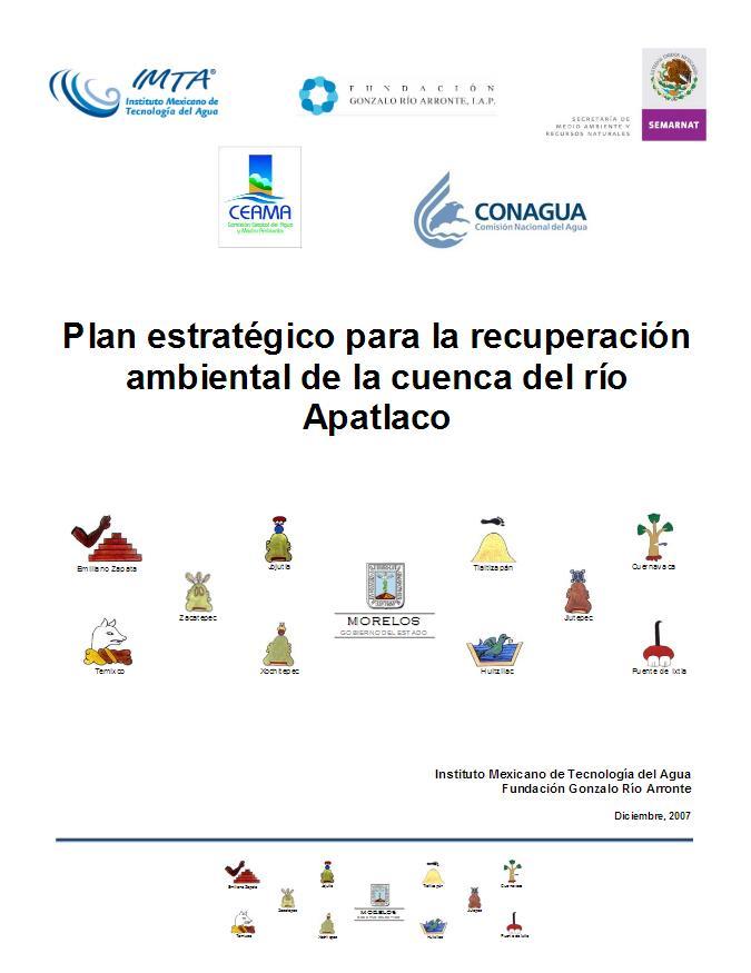 Plan estratégico para la recuperación ambiental de la cuenca del río Apatlaco