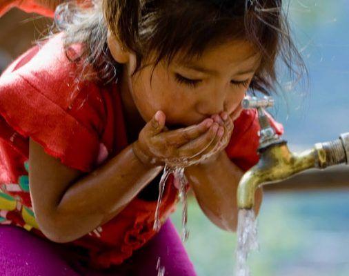 No todos pueden lavarse las manos (iAgua)