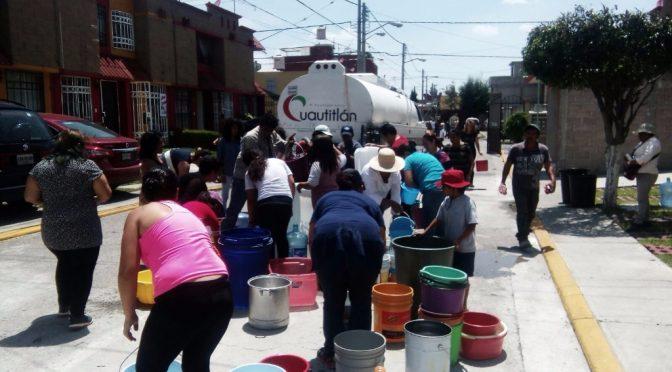 Álvaro Obregón, sin infraestructura para enfrentar recorte de agua (Excelsior)