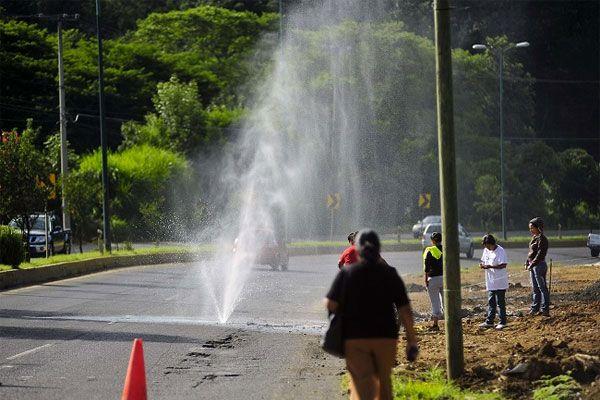 Fuga de agua en villas del mayorazgo van 8 d as for Fugas de agua madrid