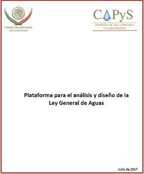 Plataforma para el análisis y diseño de la Ley General de Aguas.