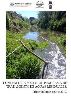 Contraloría social al programa de tratamiento de aguas residuales