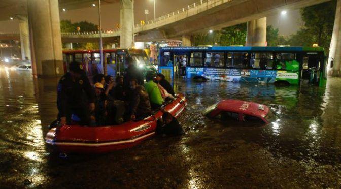 Desagüe, tragedia de la Ciudad de México