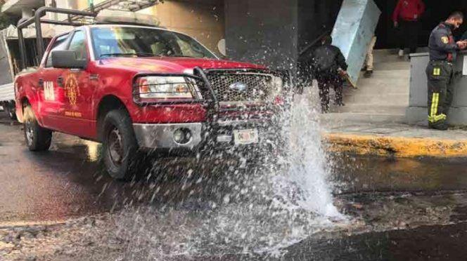Por viejo, colapsa el sistema hídrico del Valle de México