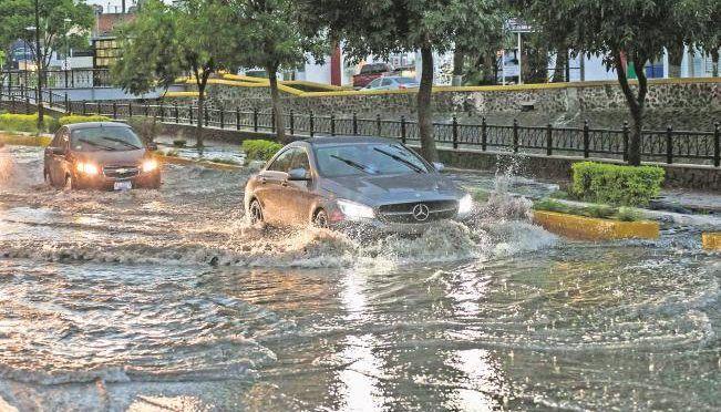 Lluvias e inundaciones en la Ciudad de México