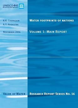 Water footprints of nations. Volume 1: main report