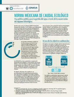 Norma Mexicana de Caudal Ecológico