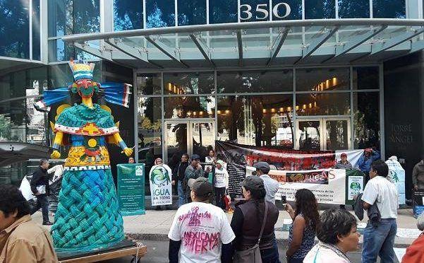 CdMx: Manifiesto por el agua en la Ciudad de México