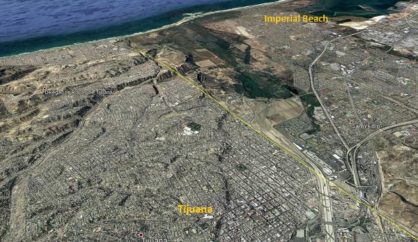 """Baja California: La """"guerra sucia"""" entre Tijuana y San Diego por las aguas que contaminan sus costas (BBC)"""