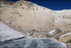 Cambio climático en el Valle de México: Iztaccíhuatl, Glaciar Ayoloco
