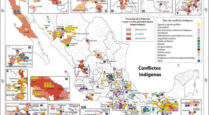 Nacional: 335 disputas indígenas; viven conflictos en 29 estados (Excelsior)