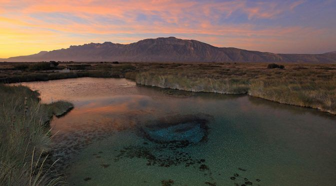 Saltillo: Amenaza a Cuatro Ciénegas uso ilegal de 82% del agua (Vanguardia)