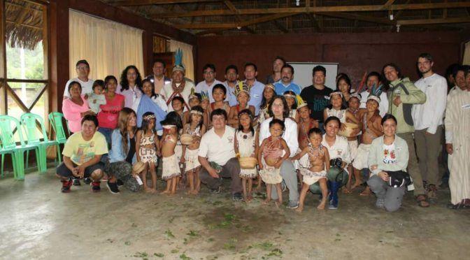 Perú: Promueven proyecto de agua en comunidades de Reserva Comunal Machiguenga (Andina)