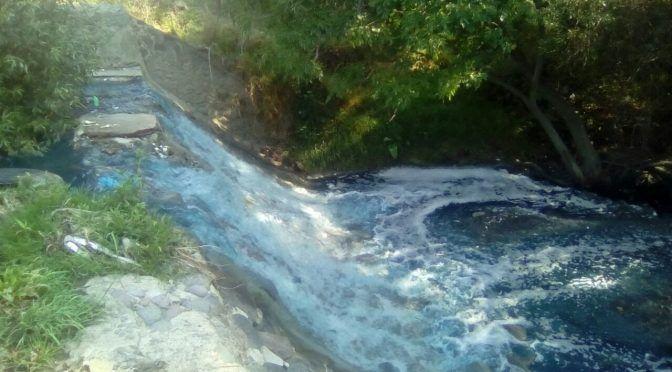 Puebla: Acusa regidora que El Verde contamina río Acotzala (Municipios)