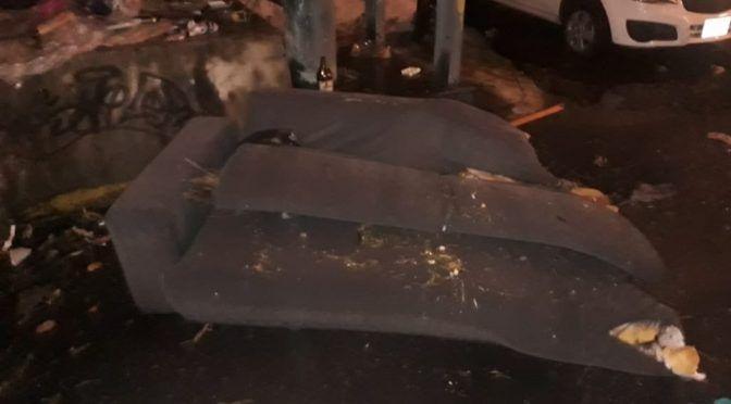 CdMx: Basura causó inundaciones en calzada Ignacio Zaragoza (Milenio)