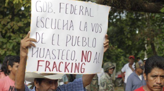 Cuatro mil indígenas se manifiesta contra el fracking (Plano Informativo)