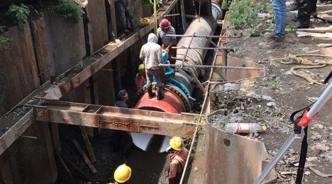 Al 90%, obra de planta de bombeo en Coyoacán (Milenio)