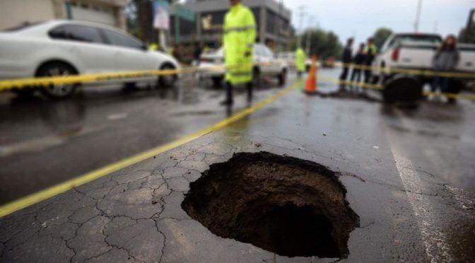UNAM alerta de posibles hundimientos de la tierra (Milenio)
