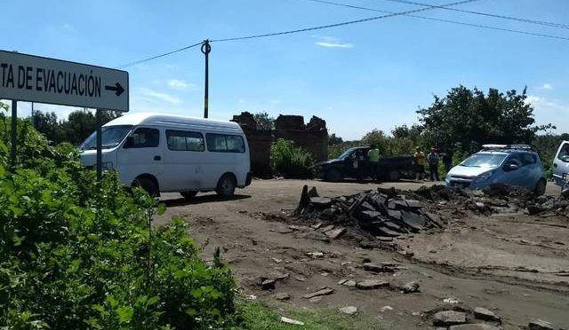 Se oponen pobladores de Huejotzingo a construcción de red de agua potable (El Sol de Puebla)