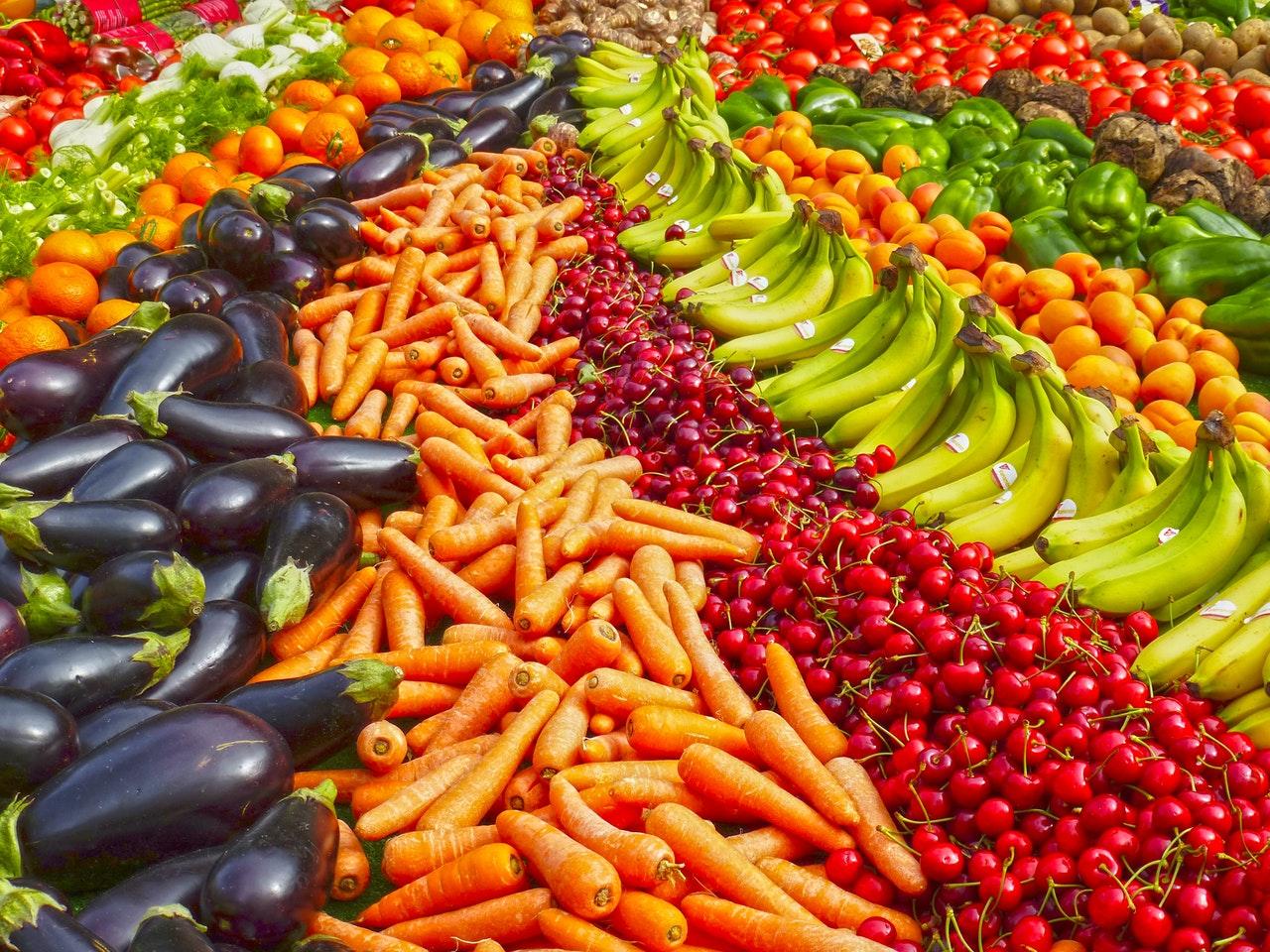 Agua y agricultura para la producción de frutas