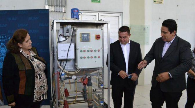 Puebla: FIQ recibe planta piloto de tratamiento de aguas residuales (Milenio)