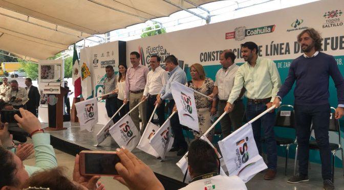 Coahuila: Inicia construcción de línea de refuerzo de agua en Saltillo (Milenio)