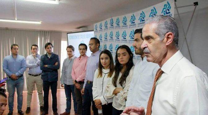 Jóvenes Coparmex se pronuncian contra el fracking (El Sol de San Luis)