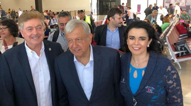 López Obrador y Francisco Vega acuerdan acciones en agua y seguridad para Baja California (El Economista)