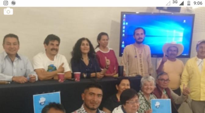Presenta Asamblea del Agua inciativa de Ley ciudadana contra la privatización del agua (Agua para Tod@s)
