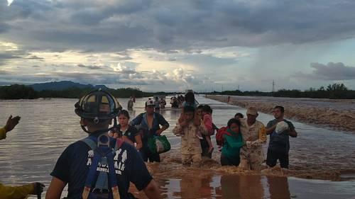 Culiacán: tres muertos y cuatro desaparecidos por las lluvias (La Jornada)