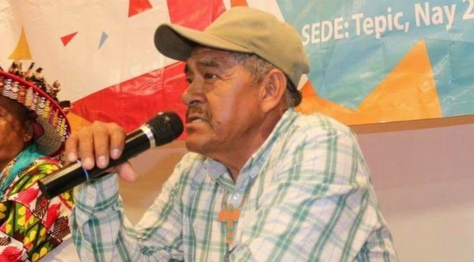 Asesinan a ambientalista wixárika en Nayarit (La Jornada)