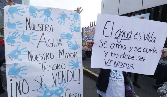 Morena pide al Gobierno de EPN frenar remate del agua nacional por internet; empieza este lunes (Sin Embargo)