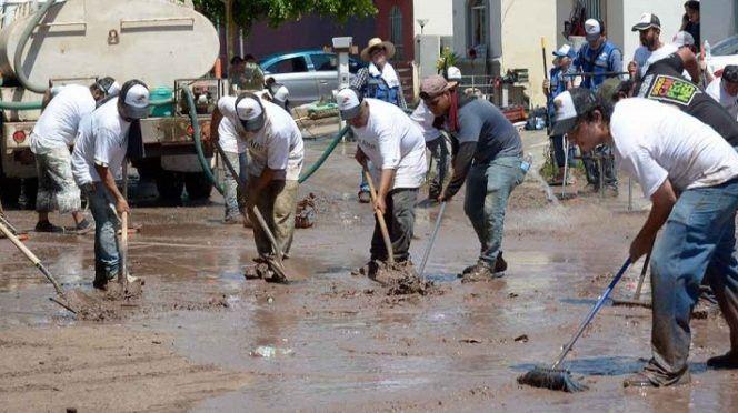 Descartan brotes de enfermedades en Sinaloa por inundaciones (Excelsior)