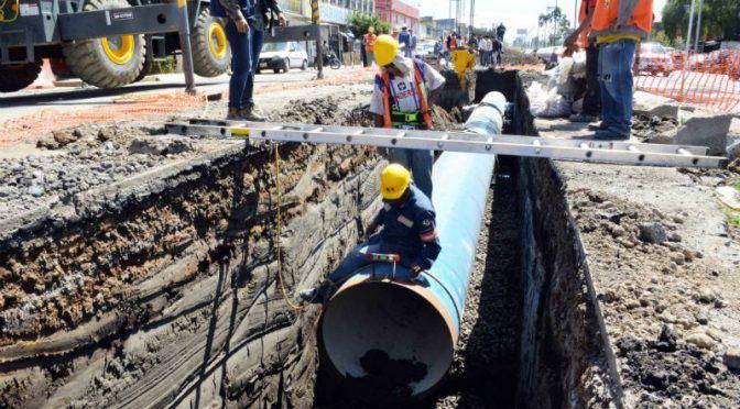 Se sustituirá el 40% de la red de agua potable en Neza, anuncia Juan Hugo de la Rosa (24 Horas)