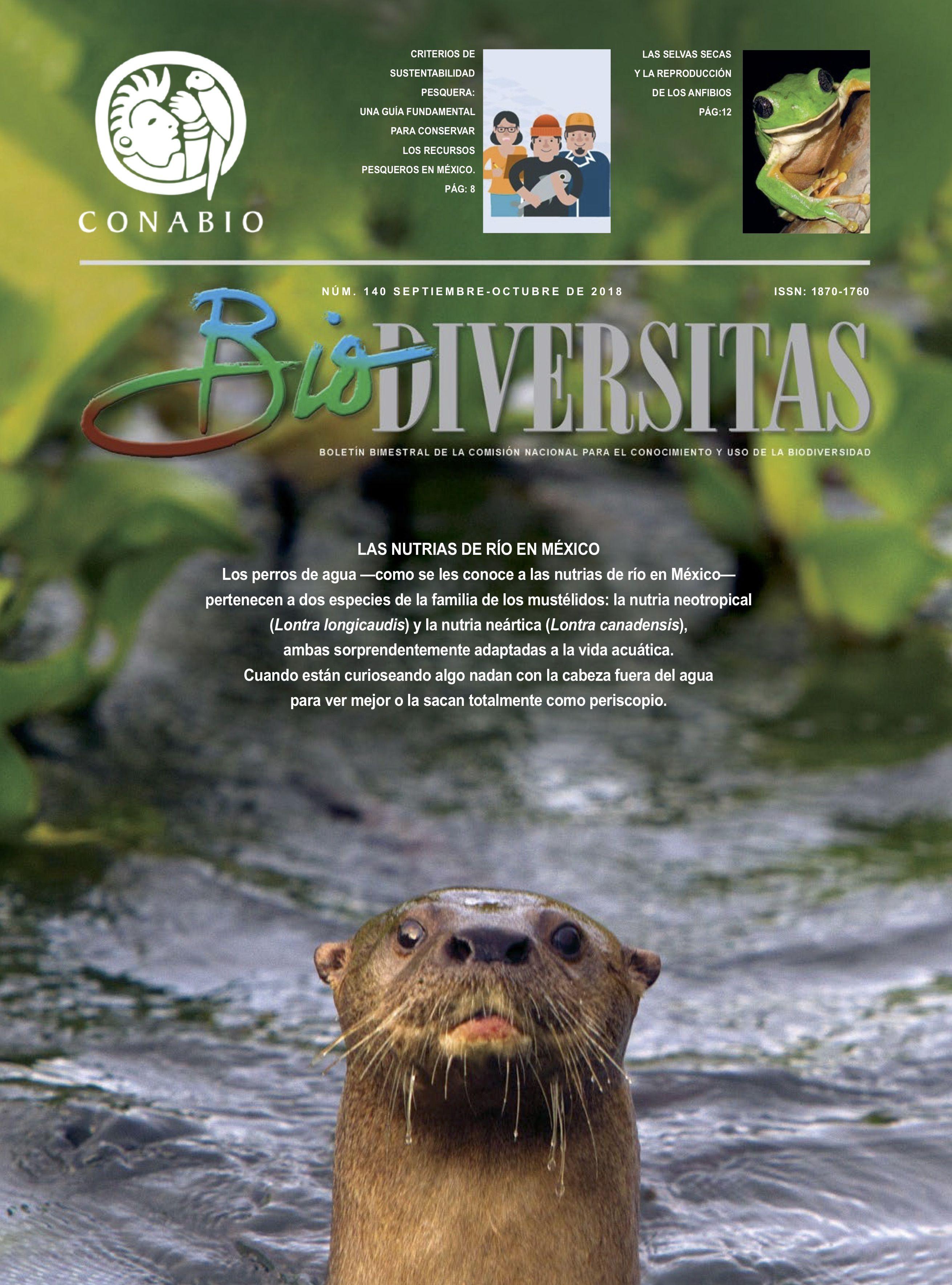 Revista Biodiversitas No. 140 CONABIO