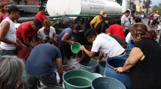No existirá colapso por corte de agua en CdMx: Amieva (Milenio)